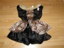 Costum carnaval serbare animal leopard 4-5-6 ani