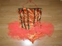 Costum carnaval serbare rochie dans balet 8-9 ani