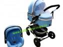 Cărucior nou născut 3 in 1 Baby Care 531 Blue