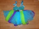 Costum carnaval serbare rochie dans balet zana 4-5-6 ani