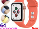 Ceas Apple Watch Seria 1 2 3 4 Curea Bratara Din Silicon
