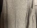 Pulover bluza Zara gri si negru