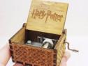 Cutie cutiuta muzicala harry potter eleganta lemn