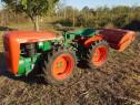 Tractor Goldoni articulat, motor diesel 21 CP, cu freza