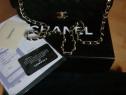Genti Chanel/Franta/piele naturală,saculet ,card,factura