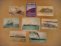A978-Vapoare-Linia maritima Hamburg-carti postale vechi.
