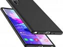 Samsung Note 10 10 Plus Husa Slim Silicon Catifea Interior