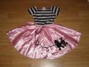 Costum serbare printesa poodle pentru copii de 4-5-6 ani