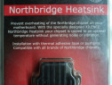 Heatsink PC NorthBridge-Chipset NOU Complet