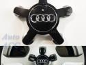 Capace jante aliaj Audi A4 A5 A6 A8 - 4FO 601 165 N – negre