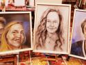 Portret sau caricatura dupa poze, grafica pastel sau in ulei