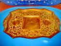 1332A-Tavita veche India, model Cloisonne gravata si emailat
