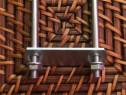 Colier 60x40 brida clema sistem fixare gard panou bordurat