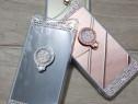Huse silicon oglinda cu inel Samsung A80 / A90