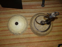 Pendul fier forjat si aplica perete deosebite / Lustra fier