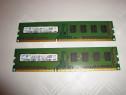 Memorii ram samsung ddr3 4GB dual ch kit 2x 2GB 1333 Mhz