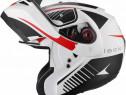 Casca moto noua - modulara - flipup - ochelari soare - black