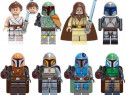 Set 8 Minifigurine noi tip Lego Star Wars cu Luke si Rey