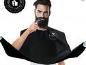Set frizerie barba, sort, pentru barbierit si tuns singur
