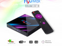 H96 max ultra hd smart tv box android 9.0 iptv 4/32gb ram co