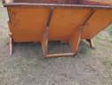 Container deșeuri cu suport lame