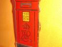 7119-Sigla reclama vintage LAMBERT London metal emailat.
