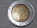Moneda Italiană de 500 de lire an 1995 rare de colecție 60