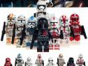 Set 8 Minifigurine tip Lego Star Wars cu Clone si Cdt.Deviss