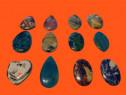 Cabochon agat pandantiv, piatra bijuterii, medalion, colier,