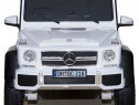 Masina electrica Mercedes G63 6x6 Premium cu 4 motoare #Alb