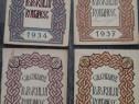 Carte veche calendarul poporului romanesc patru volume