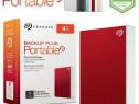 "HDD extern Seagate Backup Plus Portable metalic 4TB 2.5"" 3.0"