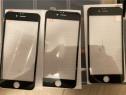 Folie sticla 4D iPhone 6 negru si 7 alba