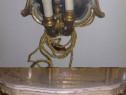 Noptiera/consola cu oglinda,baroc venetian,vintage/antic