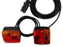 Instalație electrica detașabilă magnetica remorci agricole