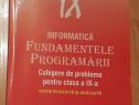 Informatica IX. Fundamentele programarii. Pascal Si C/C++