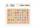 Magbetic mini alphabet & numbers 54 pcs