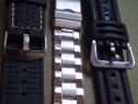 3 curele pentru ceasuri de mana, 2x24mm si una de 22mm