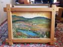 Tablou cu pictura in ulei pe panza 94 x 72