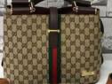 Set Gucci model office material textil saculet inclus