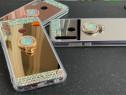 Husa Oglinda cu pietricele si inel pt. Huawei P Smart Z