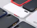 Husa Hybrid Silicon Spate Plastic - Iphone X XS XR XS MAX