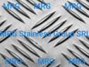 Tabla aluminiu striata Quintett 4x1000x2000 antiderapanta
