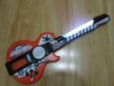 Jucarie Simba My Music World I-Light Guitar cu loc pt. tel.
