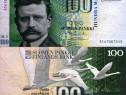Bancnota 100 markkaa, 1986, FINLANDA, circulata