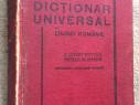 Dictionar Universal al Limbii Romane, Saineanu