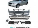 Pachet Bara fata+grile BMW seria 3 E90/E91