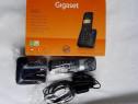 Telefon DECT Gigaset A120, nou, wireless, negru, Germania