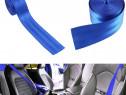 Rola Pentru Centura Auto Material Albastru