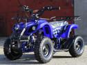 ATV Electric cu 3 viteze KXD ECO Torino 800W 36V #Blue